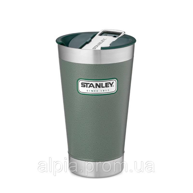 Термочашка Stanley Classic 0.47 л зеленая