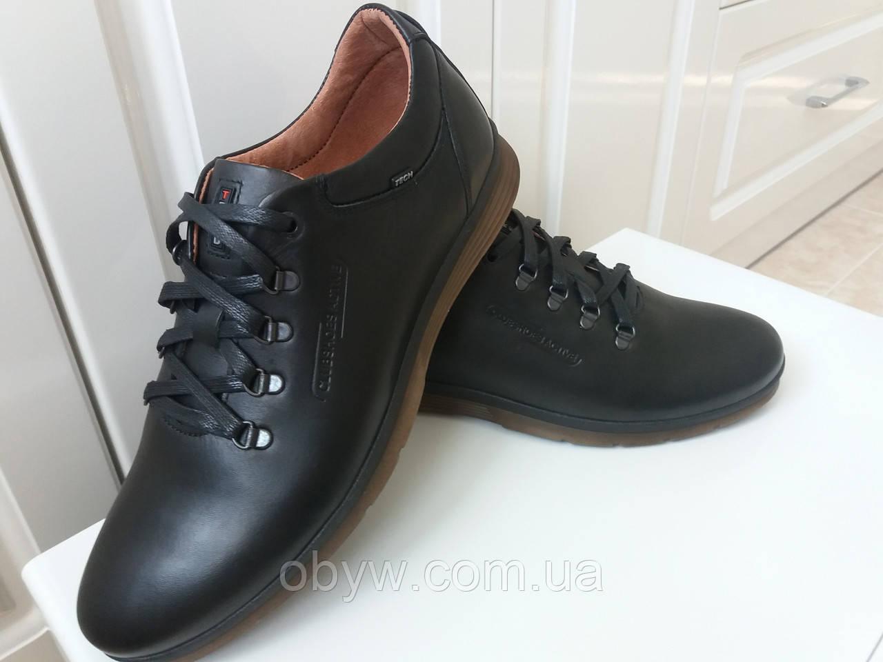ed1d1550b Осенние туфли мужские кожаные - Весь ассортимент в нашем магазине в наличии.  в Днепре