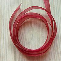 Лента органза  1 (10 мм) - 5 метров