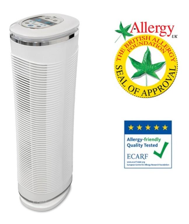 Очищувач повітря HEPA HoMedics (85 м2)