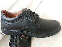 Кожаные туфли мужские осенние