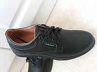 Кожаные осенние туфли для мужчин