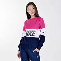 """Женская толстовка трикотаж """"Nike"""" реплика"""