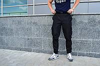 Мужские черные карго штаны ТУР Jogger