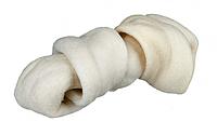 Жевательная косточка 11см/50гр с узлами  для чистки зубов у собак и щенков