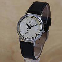Poljot Sekonda de luxe стальной корпус мех. часы СССР