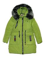 Пальто зимнее для девочки ,р.134-158