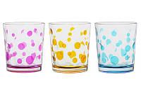 """Набор из 3 стаканов 360 мл """"Горох"""" 650-633"""