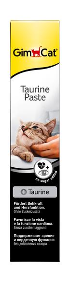 GimCat (Джимкет) TAURINE Paste 50г - паста с таурином для кошек