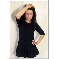 Маленькое черное платье мини и в других цветах Сукня жіноча міні чорна