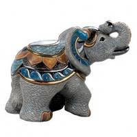 Фигурка De Rosa Rinconada Emerald Слон Индийский Dr1015-21 серый