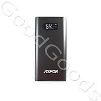 Powerbank Aspor Ultrathin 10000mAh 3.0mAh быстрая зарядка + дисплей (100% ёмкость), фото 1