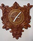 Часы резные с ангелами, фото 2
