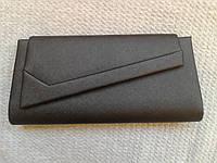 Женский клатч черный стильный(Турция)