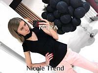 Женская яркая блуза с чокером 5 цветов
