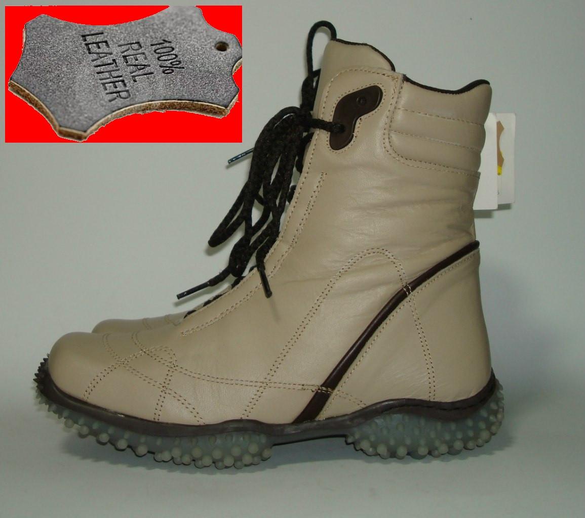 Ботинки кожаные женские демисезонные 777, Испания , цена 920 грн ... b7bb88820f7