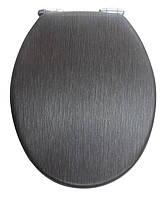 Крышка для унитаза черная с микролифтом Venge AWD02181098