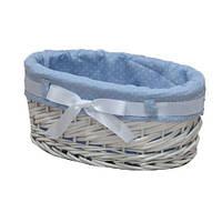 Корзина для белья плетеная Alice M белая AWD02241079