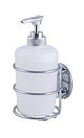 Дозатор для жидкого мыла настенный на липучке AWD02091301