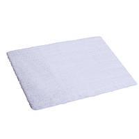 Коврик для ванной комнаты из микрофибры 50*80 белый AWD02161148