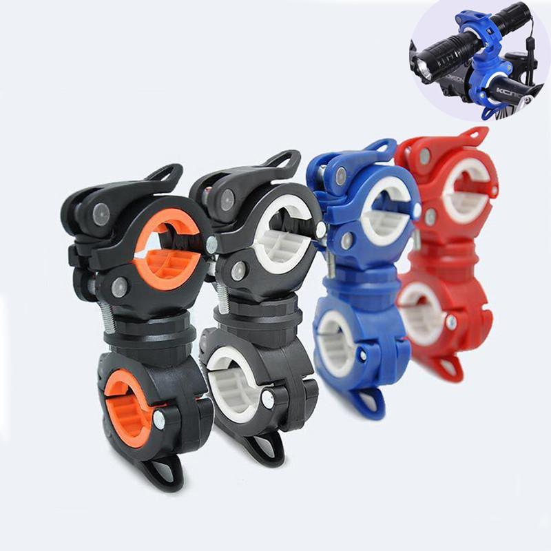"""Велосипедное поворотное крепление """"восьмёрка"""" на руль / подсидел / вилку для фонаря, насоса или муз. плеера"""