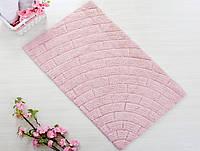 Коврик для ванной 50х80 Irya - Metrotiles розовый