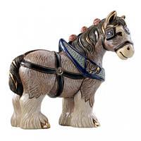 Фигурка De Rosa Rinconada Emerald Лошадь Dr1026-38 бежевый