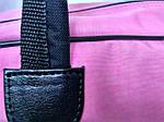 Женская сумка для спорта, 26*46*18 см, розовая, фото 4