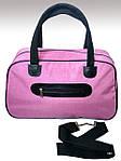 Женская сумка для спорта, 26*46*18 см, розовая, фото 2