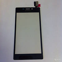 Тачскрин для Sony D2302 Xperia M2 Dual Sim S50h/D2303/D2305/D2306, черный, оригинал (Китай)