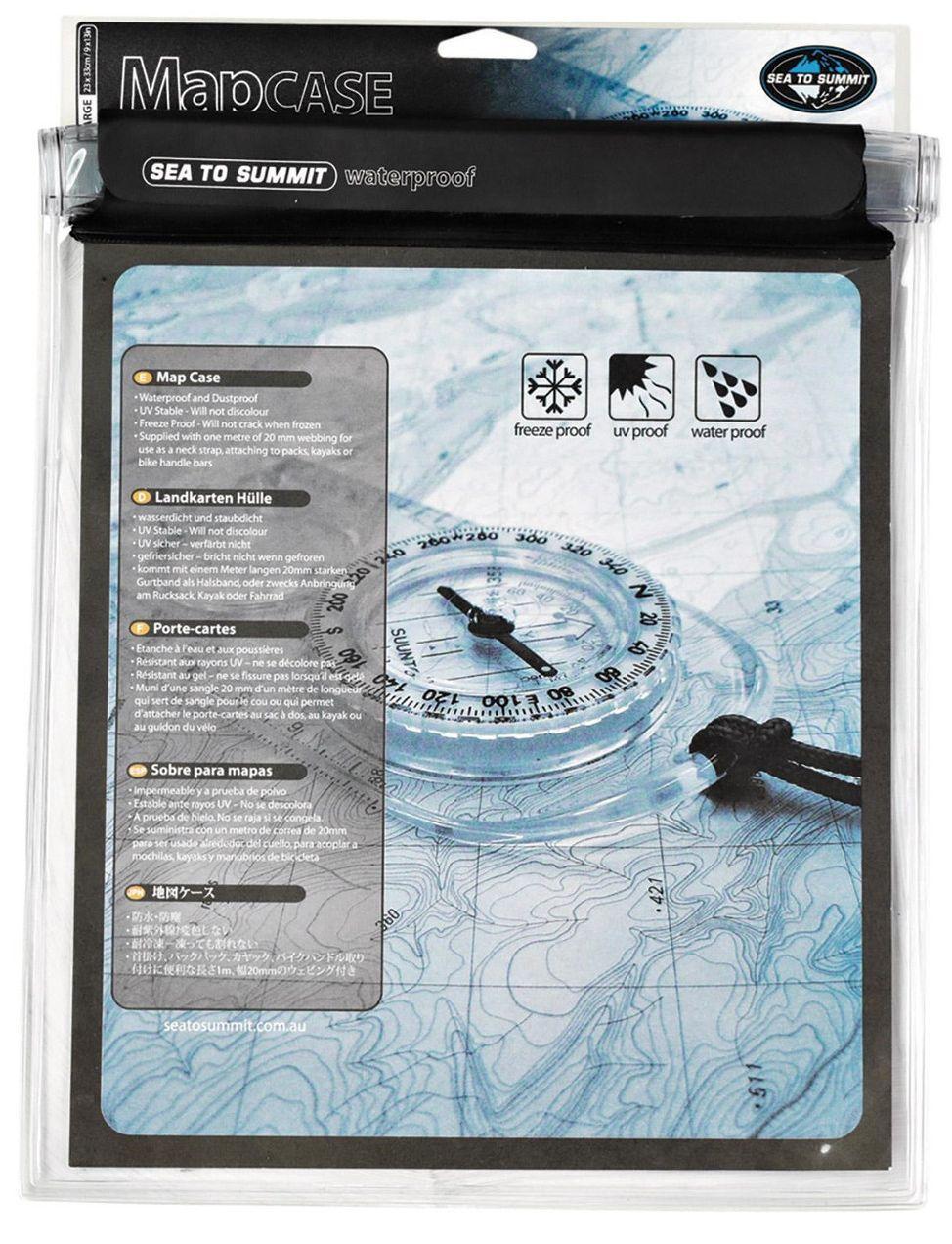 Водонепроницаемый чехол Sea To Summit TPU Guide Map Case S Black, STS AMAPTPUS, 30х21