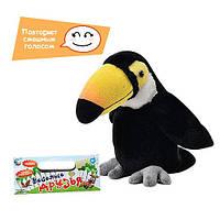 Мягкая игрушка попугай повторюшка