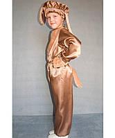 """Костюм """"Пёс Барбос"""" №2 на возраст от 3 до 6 лет (95-120 см) коричневый"""
