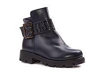 Демисезонная обувь. Детские полу сапожки для девочек оптом от фирмы Paliament B1715-1 (8 пар, 26-31)