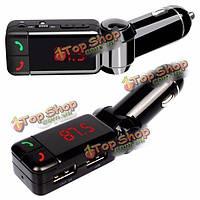 Автомобильный беспроводной MP3 плеер FM передатчик модулятор двойной USB