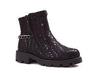 Демисезонная обувь. Детские полу сапожки для девочек оптом от фирмы Paliament B1716 (8 пар, 26-31)