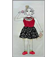 Сарафан платье летнее для девочки 104