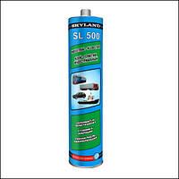 Клей-герметик полиуретановый индустриальный SKYLAND SL 500 (серый, черный, белый) (310мл).