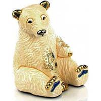 Медведь Белый с рыбой De Rosa Rinconada Emerald Dr1032-15 бежевый