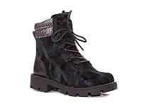 Демисезонная обувь. Детские полу сапожки для девочек оптом от фирмы Paliament B1718 (8 пар, 26-31)