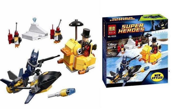 Конструктор Bela 10225 Super Heroes