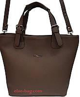 Женская сумка на ремешках
