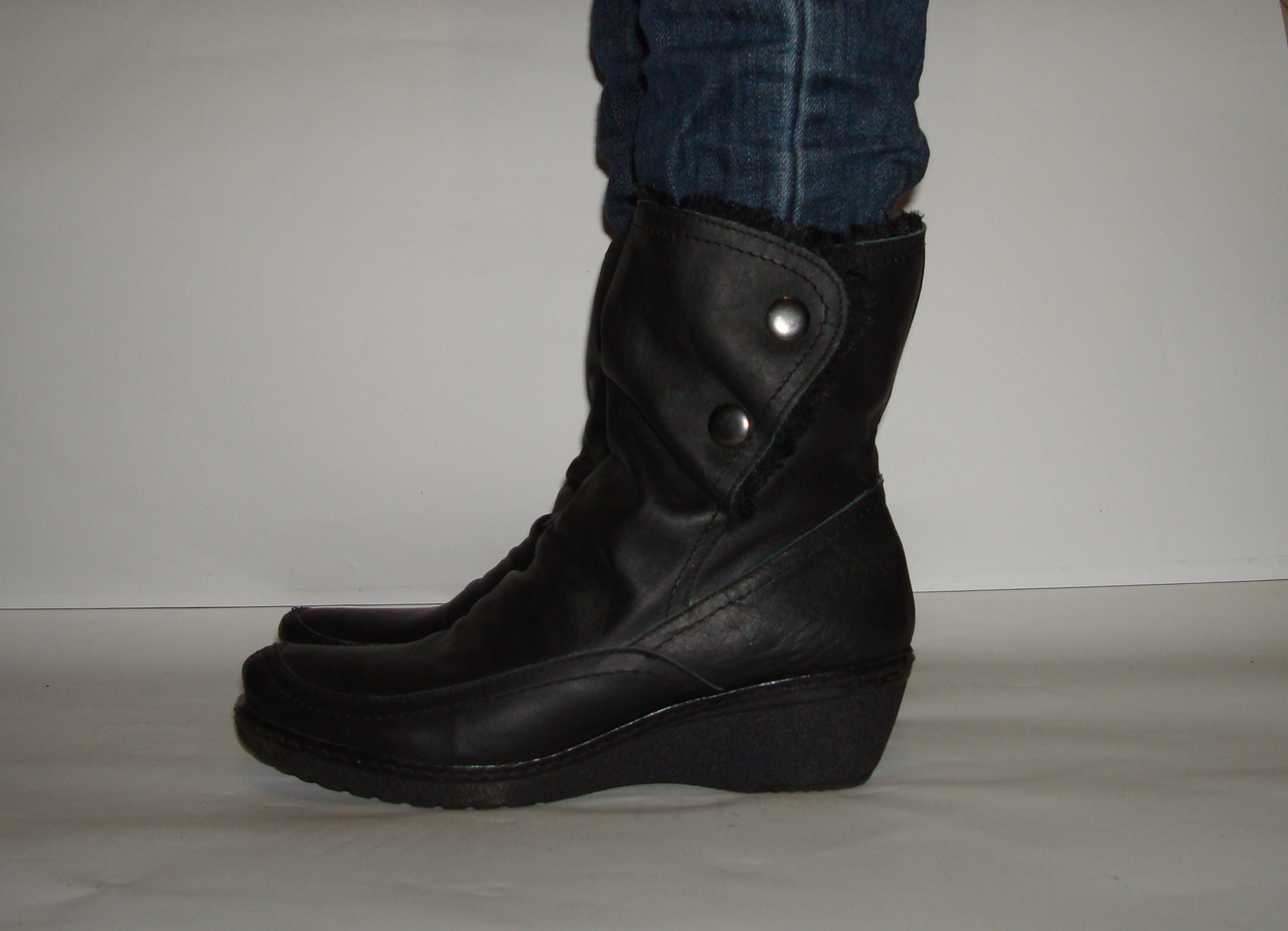 Сапоги кожаные женские VEXED, цена 590 грн., купить в Львове — Prom ... 58806057f93