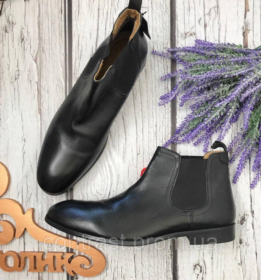 80d9279eb Мужские ботинки челси Reotape классического фасона с круглым носком SH3410  - Интернет Магазин стильной одежды shopagolic