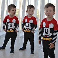 """Детский стильный костюм """"Микки Маус"""": свитшот и брюки 2(рост92-100)"""
