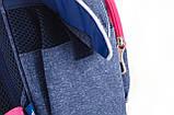 Рюкзак школьный H-11 Oxford blue, фото 5