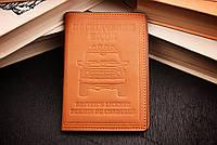 Обложка для документов, водительских, прав, кожа