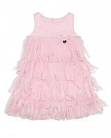 Нарядное нежно-розовое летнее платье фирмы Byblos.