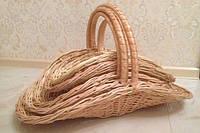 Плетеные корзины из лозы для любого вида подарков или цветов 5шт