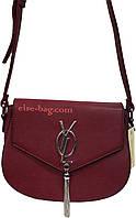 Женская сумка через плечо  с клапаном
